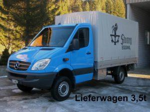 Mercedes-Benz Sprinter 313 CDI 4x4 mit Brücke und Hebebühne